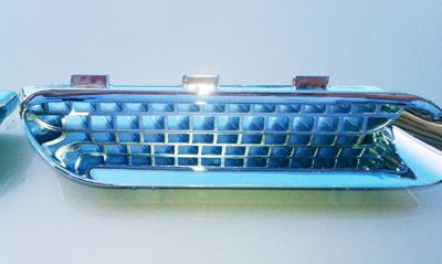 Plastic Chrome - M&M Metalizing Sales - vacuum chrome